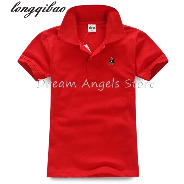eba3111b Top quality boys girls polo shirt for kids brand baby little toddler big girl  clothes summer short sleeve cotton polo shirts