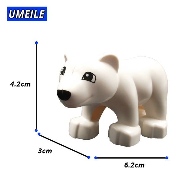 Small white bear