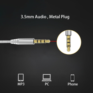 Image 5 - 3.5mm audio Earphone Sport Headset with Mic Earbuds for Samsung Xiaomi huawei mobile Phone microphone call and music Headphone
