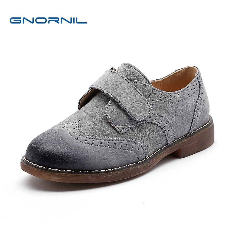 GNORNIL Brand Children Shoes Genuine Leather Boys Shoes 2018 Spring Fashion Casual Shoes Students Boy Dress Shoes Kids Sneakers children shoes boys shoes casual kids sneakers leather sport fashion boy spring summe children sneakers for boys brand 2018 new