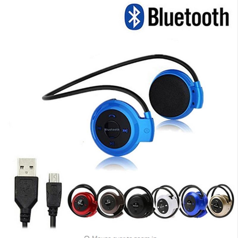 2 Stücke Neue Sport Bluetooth Mp3 Player Bluetooth Headset Fm Radio Audio Player Tragbare Walkman