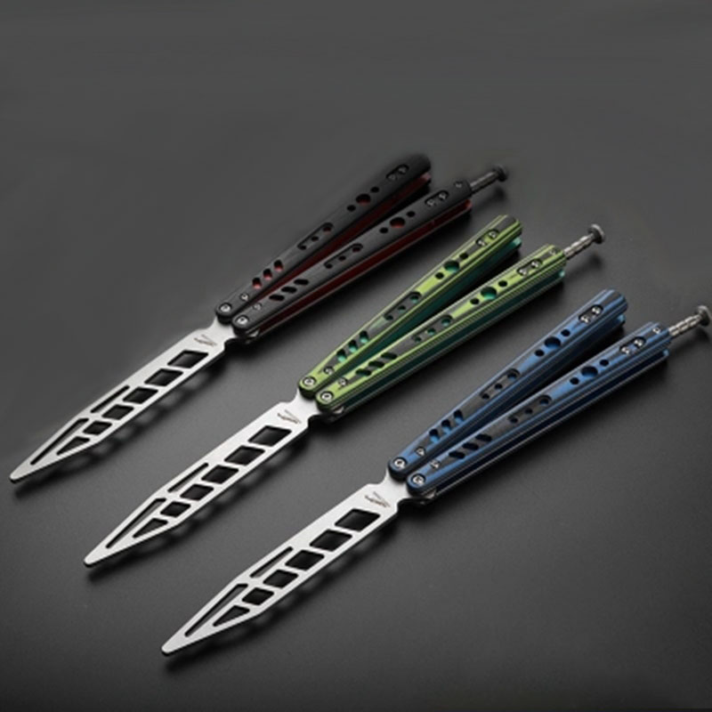 Hand Tools Butterfly In Knife Cs Go Balisong Pocket Folding Throwing Knife Training Practice Hand Tools Kerambit No Sharp Flip Cs Toy Gifts