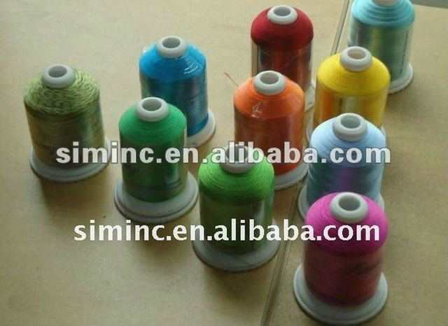 Popular Simthread 61 Brother Colors Polyester Embroidery Thread For