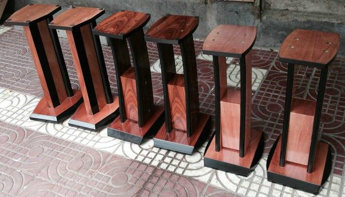 Birch Wood Logs Leather High Grade Bookshelf Speakers Tripod Speaker Stand For Price On Aliexpress