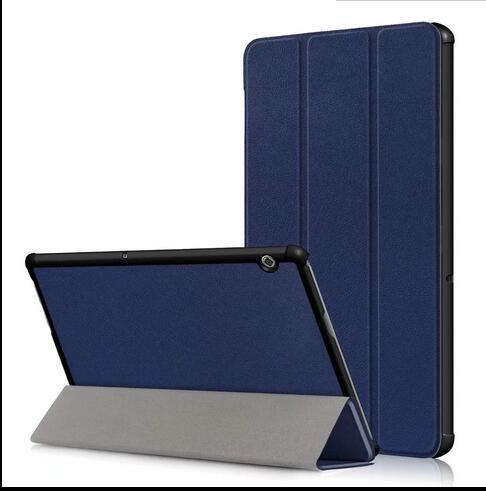 PU Case For Huawei Mediapad T5 10 AGS2-W09/L09/L03/W19 10.0 Inch Magnet Tablet Stand Case For Huawei Mediapad T5 10 Cover +Pen