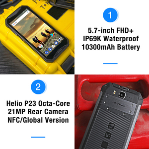 """Image 3 - Ulefone Armor 3T IP68 Waterproof Mobile Phone Android 8.1 5.7"""" FHD+ helio P23 Octa Core 4GB 64GB 21MP  Walkie Talkie Smartphone"""