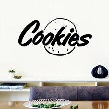 Cartoon Style Cookies Vinyl Self Adhesive Wallpaper Kids Room Nature Decor Background Wall Art Decal