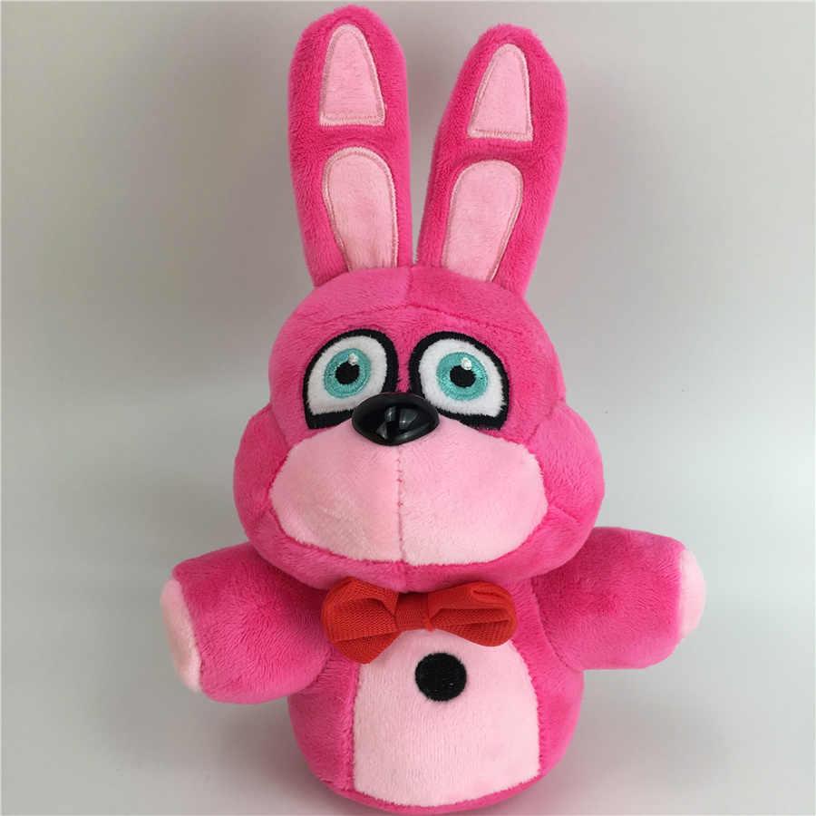 6ชิ้น20เซนติเมตรเฟรดดี้น้องสาวสถานที่ตั้งFNAF Funtimeเฟร็ดดี้Foxy Ennardของเล่นตุ๊กตายัดไส้เด็กของขวัญ