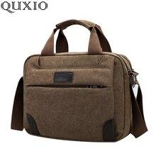 2018 New Vintage Men's Canvas Shoulder Messenger Bag Casual Handbag Men's Fashion Pack Multifunction Bag JT009Z