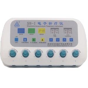 Image 2 - Elettrico Agopuntura Stimolatore Macchina SH I Massaggiatore Cura Del Corpo Con 6 Canale di Uscita Elettro Stimolazione Strumento di Trattamento