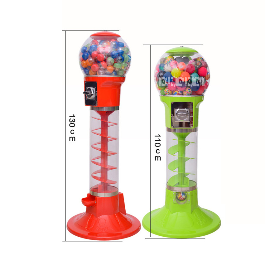 1PC Automatic Coin operated Game Machine 32mm 60mm Bouncy Ball Machines /Twisted Egg Games Vending Machine 1.1 m/1.3 m Hot Sale - 6