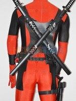 Hot Sale Deadpool Classic Halloween Costumes Cosplay Accessories Wood Sword Women Men Kids