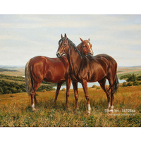 Diy Paintings Hot Pastoral Resin Animal Round Sale Diamond Painting Embroidery 2016 New Horse Dmc Needlework