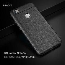 For Xiaomi Redmi Note 5A Pro Case Soft PU Leather Anti-knock Phone Cover