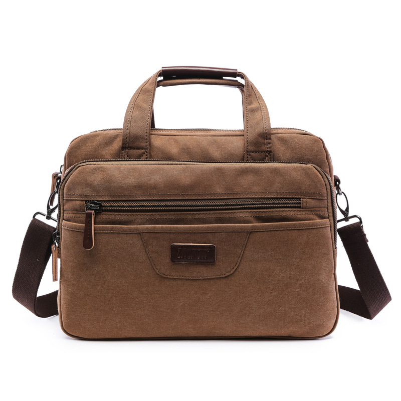 Vintage Men Canvas Messenger Bag Brand Handbags Business Casual Travel Shoulder Laptop Bag Crossbody Male Computer Bolsas Retro casual canvas women men satchel shoulder bags high quality crossbody messenger bags men military travel bag business leisure bag