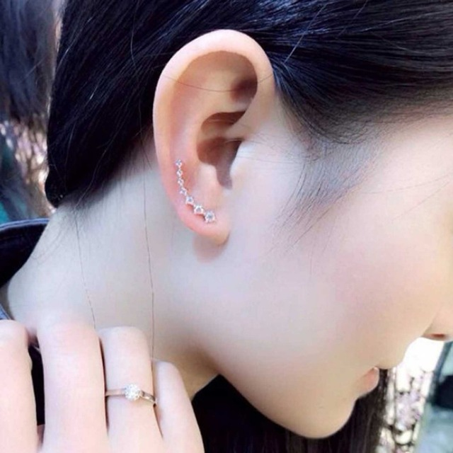 Wholesale Rainbery Bar Shape Crystal Ear Climbers Gold And Silver Fashion Earrings For Women Rose Gold.jpg 640x640 - Wholesale Rainbery Bar Shape Crystal Ear Climbers Gold And Silver Fashion Earrings For Women Rose Gold Stud Earrings Jewelry