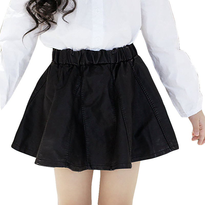 Кожаная юбка для детей