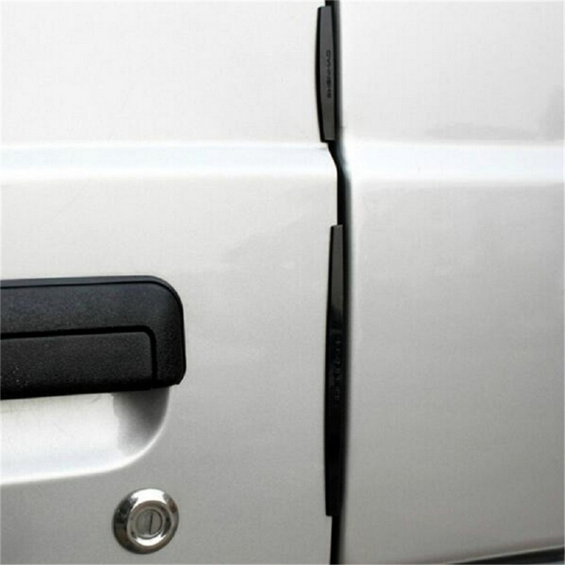 Brand New 8pcs Clear Car Door Crash Bar Edge Anti-Scratch Protector Bumper Strip