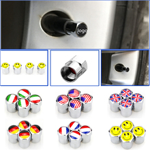 10 комплектов автостайлинг колпачки для клапанов автомобильные аксессуары Автомобильная эмблема логотип колпачки вентиля шины