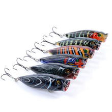 fishing accessories top water flies The surface system of the Popper Luya bait 6.8cm/8.3g Spinner