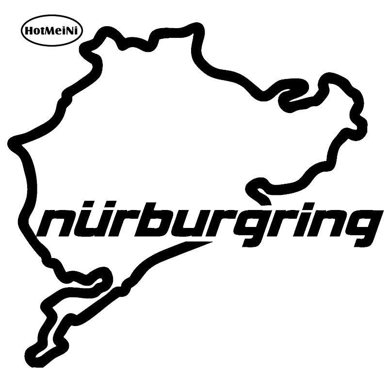The Racing Track Nurburgring Car Sticker Race Car Motorsport Vinyl