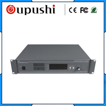 OUPUSHI CA1383M 10 Channel Studio Monitor Amplifier Listening For Voice Monitoring