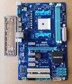 Бесплатная доставка 100% оригинал материнская плата для Gigabyte GA-A55-S3P DDR3 Socket FM1 Gigabit Ethernet A55-S3P материнская плата