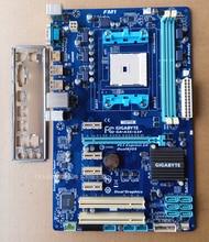 Free shipping 100% original motherboard for Gigabyte GA-A55-S3P DDR3 Socket FM1 Gigabit Ethernet A55-S3P motherboard