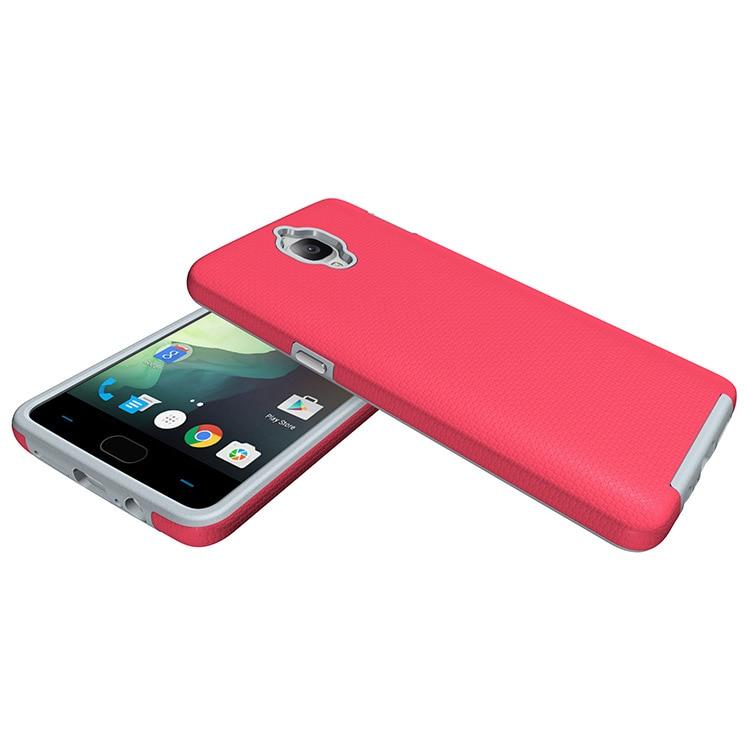 OCHGEP För OnePlus 3-fodral 5.5-tums TPU + PC Anti-Knock Plastic - Reservdelar och tillbehör för mobiltelefoner - Foto 3