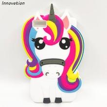 цены 3D Cartoon Rainbow Unicorn Case For Huawei Ascend Y635 P8 P9 Lite P8 Lite 2017 P10 Lite Y6II Y6 II 2 Soft Silicone Phone Cover