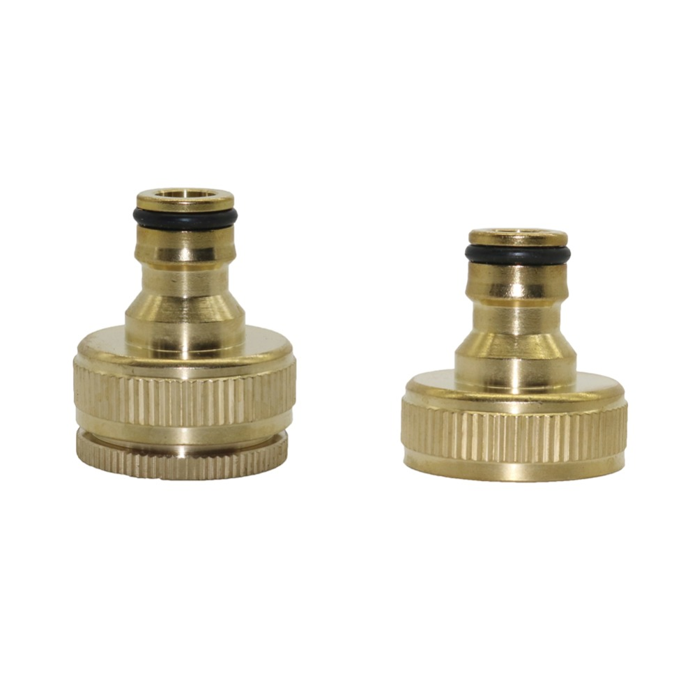 Brass Nipple Quick Connector Car Wash Irrigation Plumbing Pipe Fitting 3/4