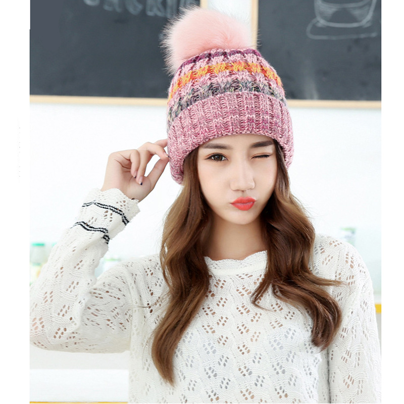 1pcs Woman's Warm Winter Hats for Girls Thick Knitted Cap for Woman Hats Skullies Beanies Gorros Hombre Invierno Casquette Homme winter hats for men gorros hombre casual male skullies and beanies bonnet men casquette cap winter bonnets en laine homme