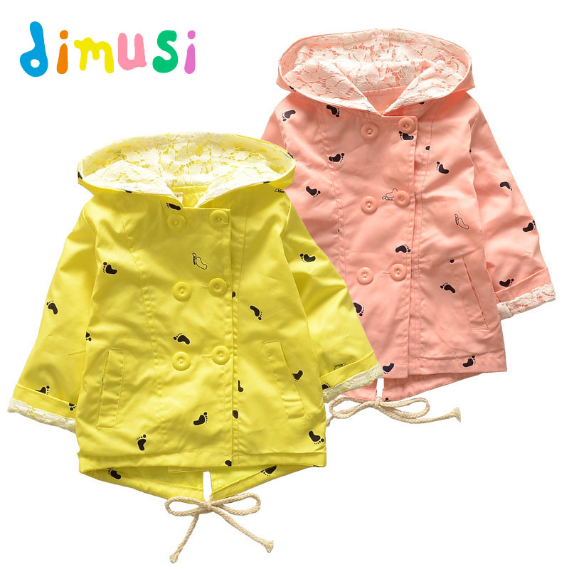 DIMUSI Autumn Girl's Bomber Jackets Fashion Thin Windbreaker Jacket Baby Girls Casual Outwear Trench Children Coats 7T,EA011