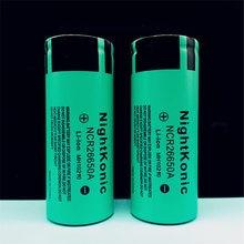 цена High Quality  Nightkonic 10 Pieces  26650  Battery 3.7V 5000mAh Li-ion Rechargeable Battery For LED Flashlight Torch онлайн в 2017 году