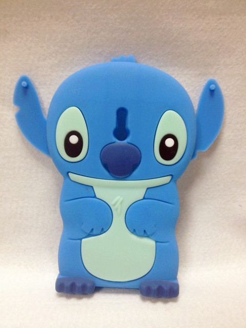 Lovely Stitch 3D Silicone Case For .Nokia Lumia 800 High Quality Cell Phone Case Silicone