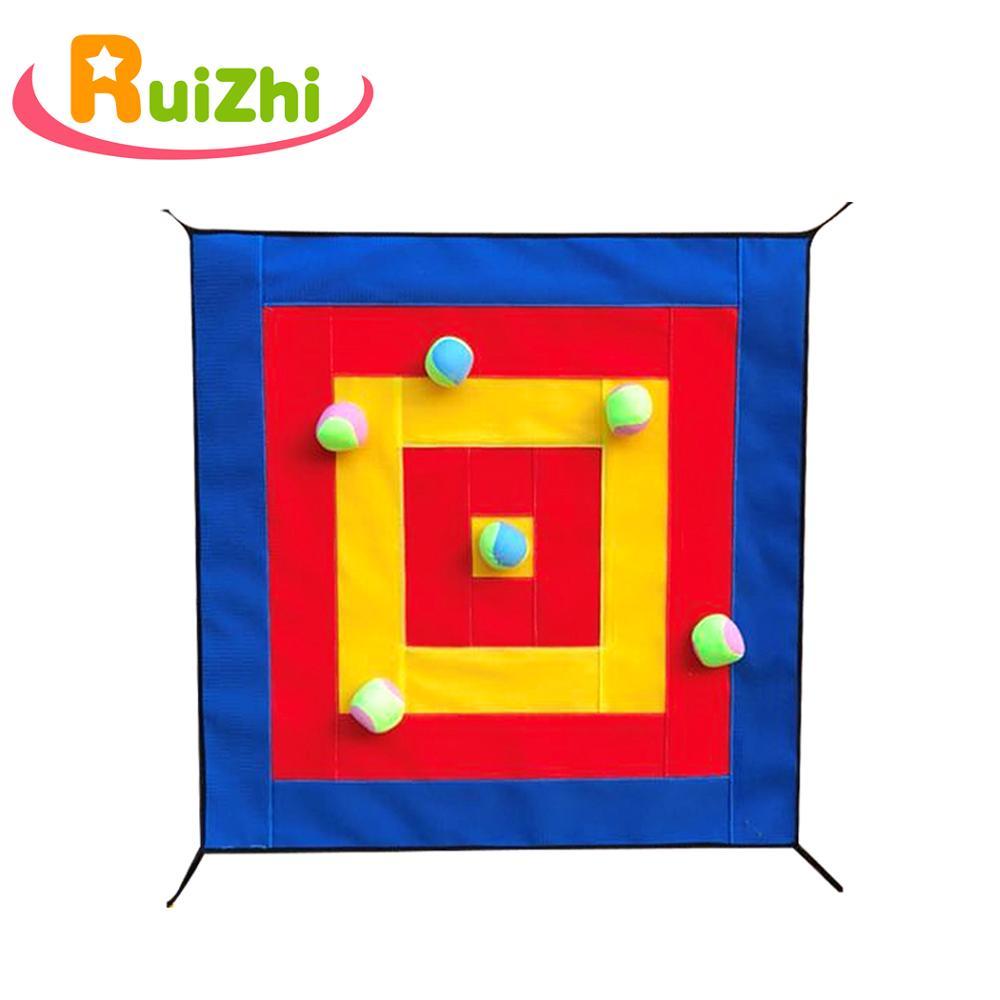 Children Dart Board Kindergarten Throwing Sticky Ball Target Magnetic Dartboard Kindergarten Indoor Sports Game Kids Toys RZ1023