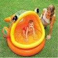 Sombra natación del bebé piscina inflable animal de la historieta de la boca de pescado open baby juego de agua para niños niños