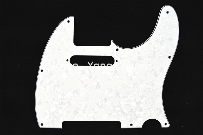 Niko Pearl White 4 PLY Electric Guitar Pickguard For Fender Tele Style Electric Guitar Free Shipping Wholesales