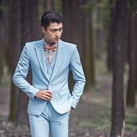 Men's suits best man suit costume studio theme costume slim fit homme three piece suits clothes for men
