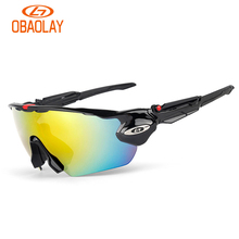 OBAOLAYUV400 glasses men and women general polarization ride bicycle motorcycle goggles
