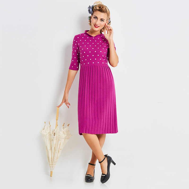 3beaa17540afdc5 Sisjuly осень Для женщин фиолетовый Лоскутная Bodycon платья пуловер до  середины икры прямые вечерние платье с