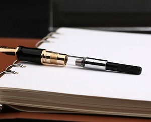 Image 5 - Moonman M600S Celluloid Brown Fountain Pen MOONMAN Iridium Fine Nib 0.5mm Excellent Fashion Office Writing Gift Pen for Business
