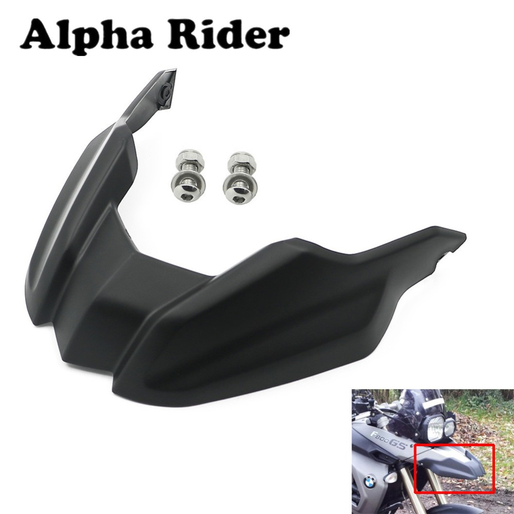 F800GS 08-12 Front Fender Beak Extension Cover Plastic For BMW F800 GS 2008-2012 / F650 GS F650GS 2008 2009 2010 2012 2013