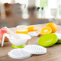 Baby Food Grinder Cook For Infant Universal Spoon Kids Nursing bowl Subsidiary Food Fruit Feeder Processor Juice Crush Machine