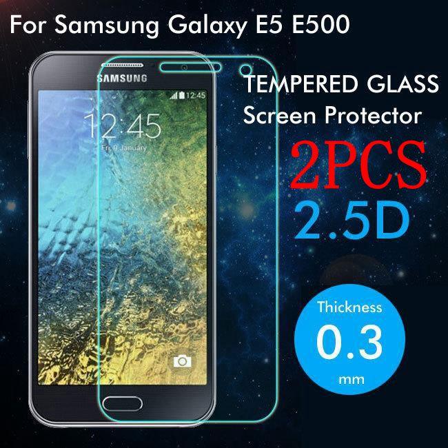 2 шт. закаленное стекло для Samsung Galaxy E5 E500 защита для экрана Защитная пленка для Samsung Galaxy E5 E500 стекло
