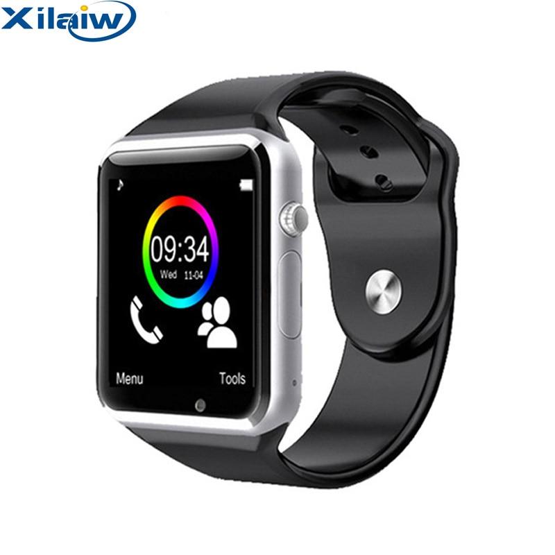 d0beaae39de Xilaiw Bluetooth A1 Smart Watch Relogio Android Smartwatch Phone Call SIM  TF Camera for IOS iPhone Samsung HUAWEI VS dz09 gt08