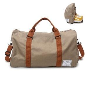 Image 1 - Спортивная сумка, сумка для спортзала, мужские и женские тренировочные сумки для йоги и фитнеса, прочная многофункциональная сумка, спортивные сумки на плечо для путешествий на открытом воздухе, Sac De