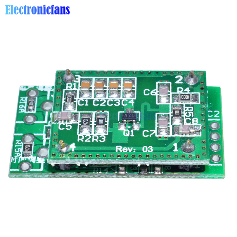 US $0 62 19% OFF LV002 8 15m DC6 40V Doppler Radar Microwave Sensor Switch  Module-in Integrated Circuits from Electronic Components & Supplies on
