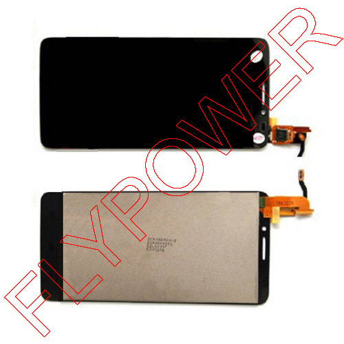 LCD Display with touch Screen FOR Alcatel One Touch Idol X OT6040 6040 6040D 6040E 6040A OT-6040D Assembly by free shipping