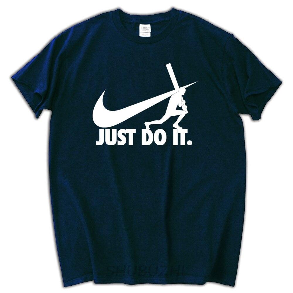Black t shirt custom - Male Funny Present Negan Lucille Walking Dead Just Do It Men S Black T Shirt